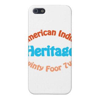 Indio americano - Twinty Foor 7ven iPhone 5 Carcasa