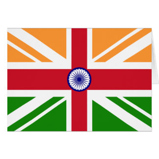 Indio Anglo Indentity, la India Tarjetas