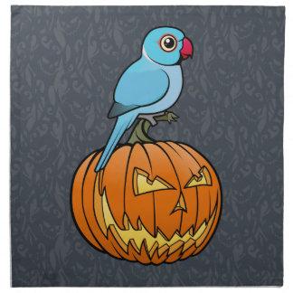 Indio azul Ringneck Halloween Servilleta De Papel