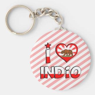 Indio, CA Keychain