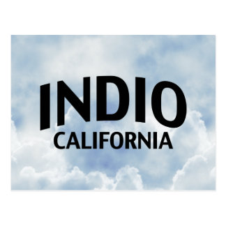 Indio California Tarjeta Postal