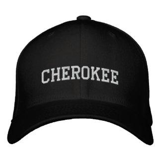 Indio cherokee gorra de béisbol bordada