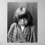 Indio Child, 1905 de Tewa Póster