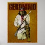 Indio de Apache del vintage - Geronimo Posters