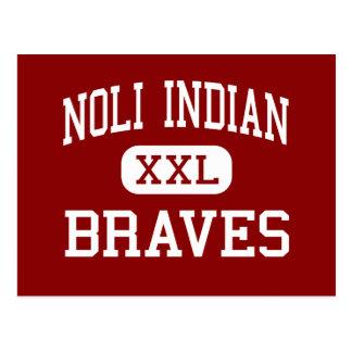 Indio de Noli - Braves - alto - San Jacinto Tarjetas Postales