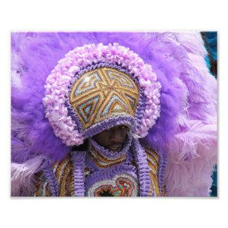 Indio del carnaval en New Orleans Arte Con Fotos