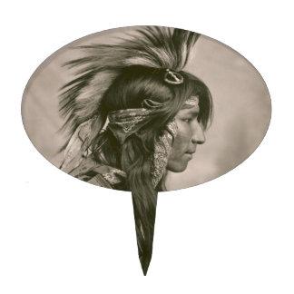 Indio del Cree Figura De Tarta