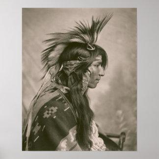 Indio del Cree Posters