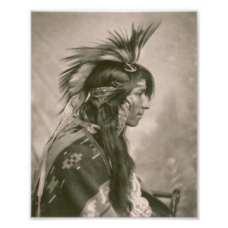 Indio del Cree Impresiones Fotográficas