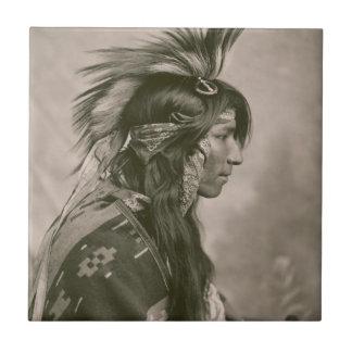 Indio del Cree Teja Cerámica