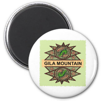 Indio del nativo americano de la montaña del Gila Imán Redondo 5 Cm