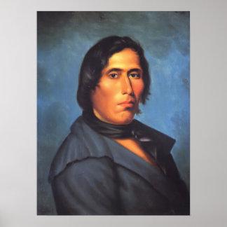 Indio del nativo americano de TECUMSEH