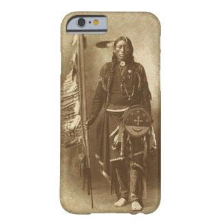 Indio del nativo americano funda para iPhone 6 barely there