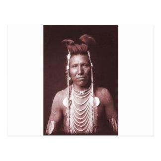 Indio del nativo americano oído largo de Ben
