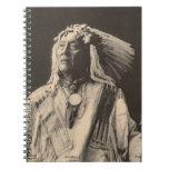 Indio del vintage: Alto oso, Siux - Libro De Apuntes