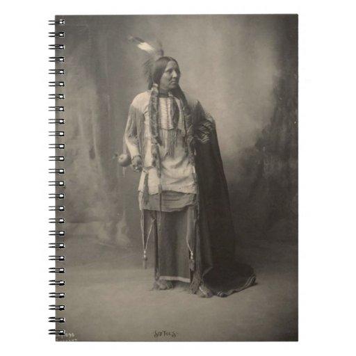 Indio del vintage: Seis dedos del pie, Kiowa - Libro De Apuntes