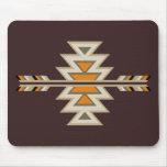 Indio Diseño-Brown del sudoeste Tapete De Ratón