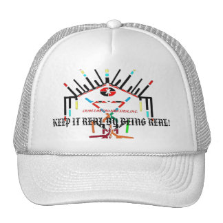 INDIOCRIOLLOS, KEEP IT REAL BY BEING REAL! TRUCKER HAT