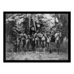 Indios 1901 de Suramérica Impresiones