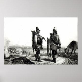 Indios de Charrua Poster