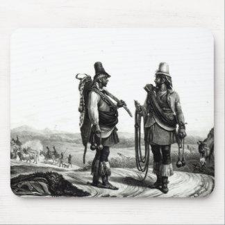 Indios de Charrua Tapetes De Ratón
