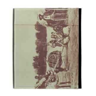 Indios de Cheyenne en el movimiento, 1878 (foto de