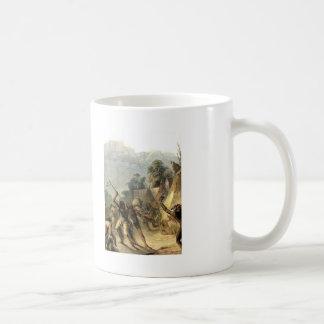 Indios de Karl Bodmer- Missouri Taza De Café