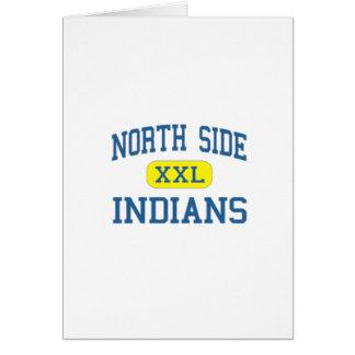 Indios de Northside Tarjeta De Felicitación