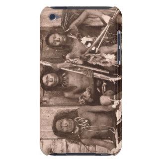 Indios de Spokane, 1861 (foto de b/w) Cubierta Para iPod De Barely There