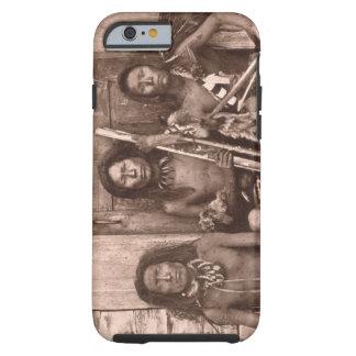 Indios de Spokane, 1861 (foto de b/w) Funda Para iPhone 6 Tough
