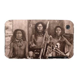 Indios de Spokane, 1861 (foto de b/w) iPhone 3 Case-Mate Carcasas