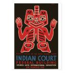 Indios del Haida Tarjetas Postales