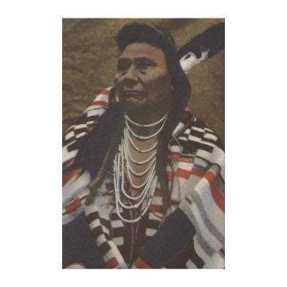 Indios del noroeste - principal José del Nez Impresion De Lienzo
