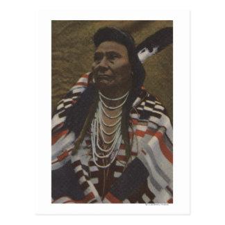 Indios del noroeste - principal José del Nez Tarjeta Postal