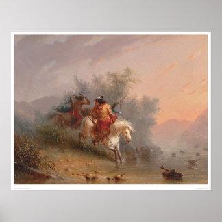 Indios del Shoshoni (1069A) Poster