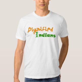 Indios dignificados playera