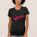 Indios en colores de encargo camiseta