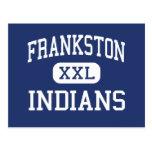 Indios Frankston medio Tejas de Frankston Postales