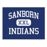 Indios Newton medio New Hampshire de Sanborn Postal