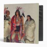 Indios norteamericanos, c.1832