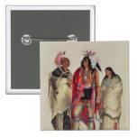 Indios norteamericanos, c.1832 pin