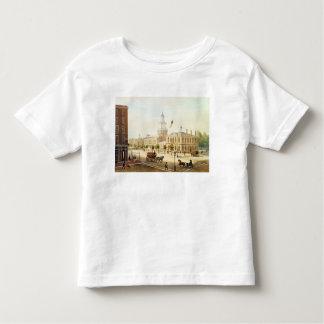 Indique la casa, Philadelphia, grabada por Deroy Tee Shirts