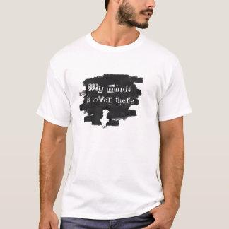 Indirect link down black and grey T-Shirt
