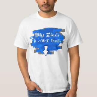 Indirect link down tee shirt