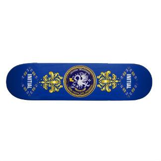 Indirecta bicentenaria de la opinión del logotipo  patines