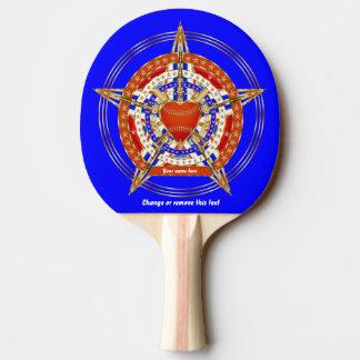 Indirecta de la opinión del Amor-Corazón de la Pala De Ping Pong
