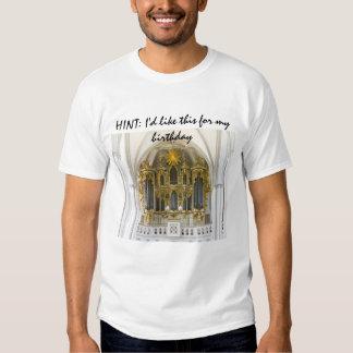 INDIRECTA: Quisiera esto para mi camiseta del Playera
