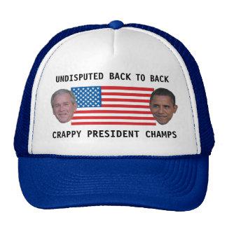 Indiscutible de nuevo a campeones traseros gorra
