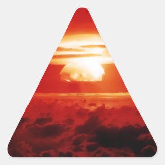 Indistinguible de mal pegatina triangular