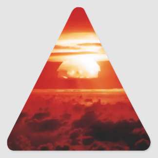 Indistinguishable from Evil Triangle Sticker